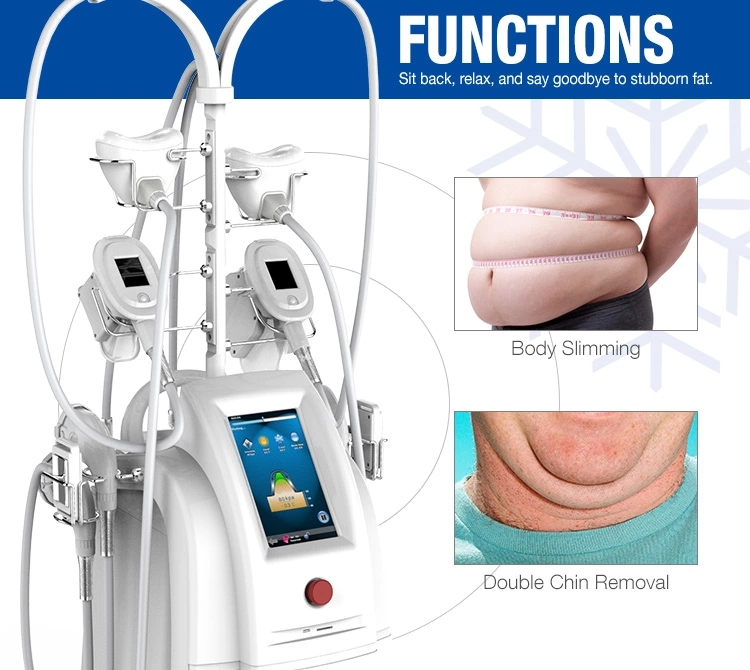 7 handles ETG50-5S Double chin cryolipolysis fat freezing