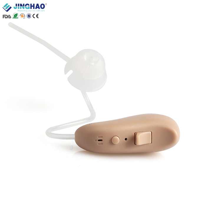 Invisible Ear Tube BTE Digital Waterproof Hunting Hearing Aid Earphone