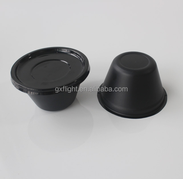 AIrline microwave ovenable CPET disposable soup bowl with lid