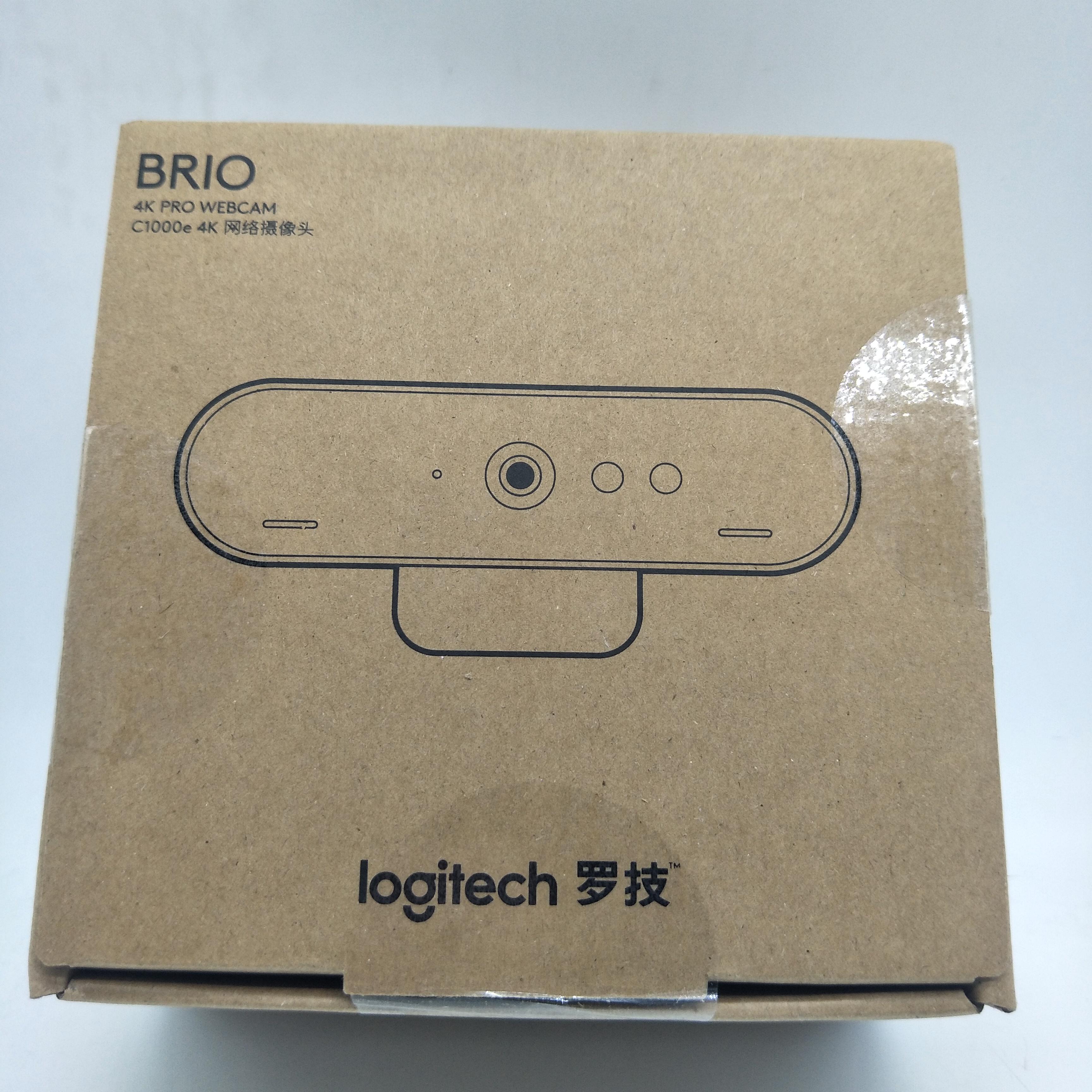 New arrival Logitech c1000e 4k ultra HD webcam