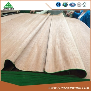 Competitive price 0.5mm thickness ebony engineered okoume veneer with good quality