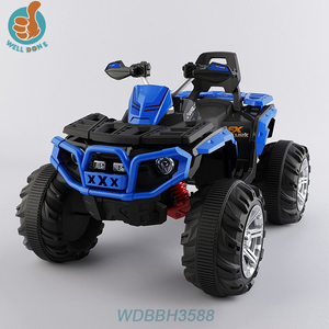WDBBH3588 2017 new kids electric ATV 4 wheel quad bike with suspension function