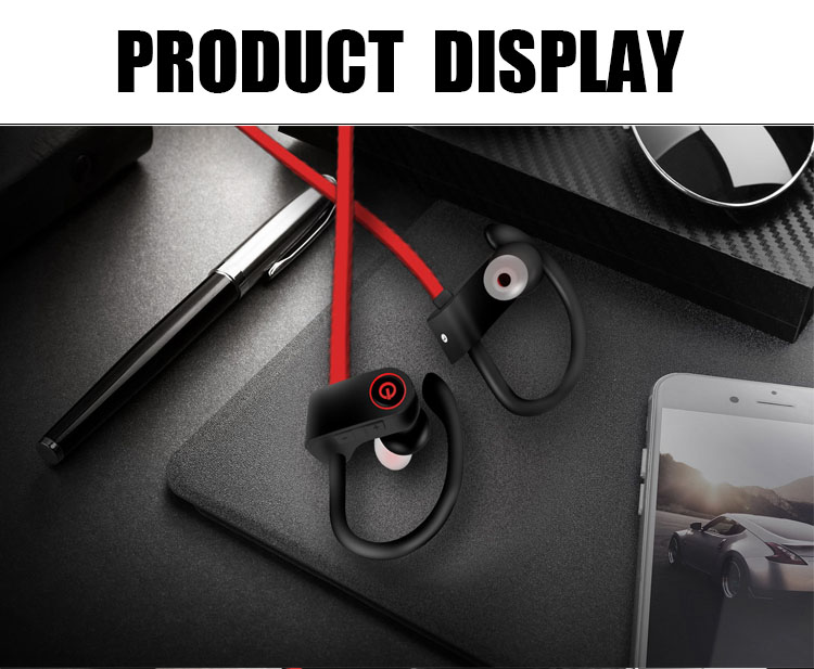 Amazon U8 Bluetooth 4.2 Sport Earphone Handfree Wireless Bluetooth Headset Earphones with Mic