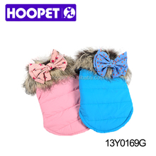 Hoopet Pet Clothes Cute Fake Fur Dog Dress