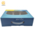Factory cheap window corrugated cardboard shampoo bottle set packaging box with plastic handle