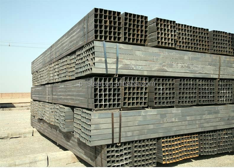 S235JR Large diameter square steel tube from china factory