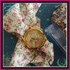 cheap exotic watches for women with ribbon strap,beautiful dressing watch