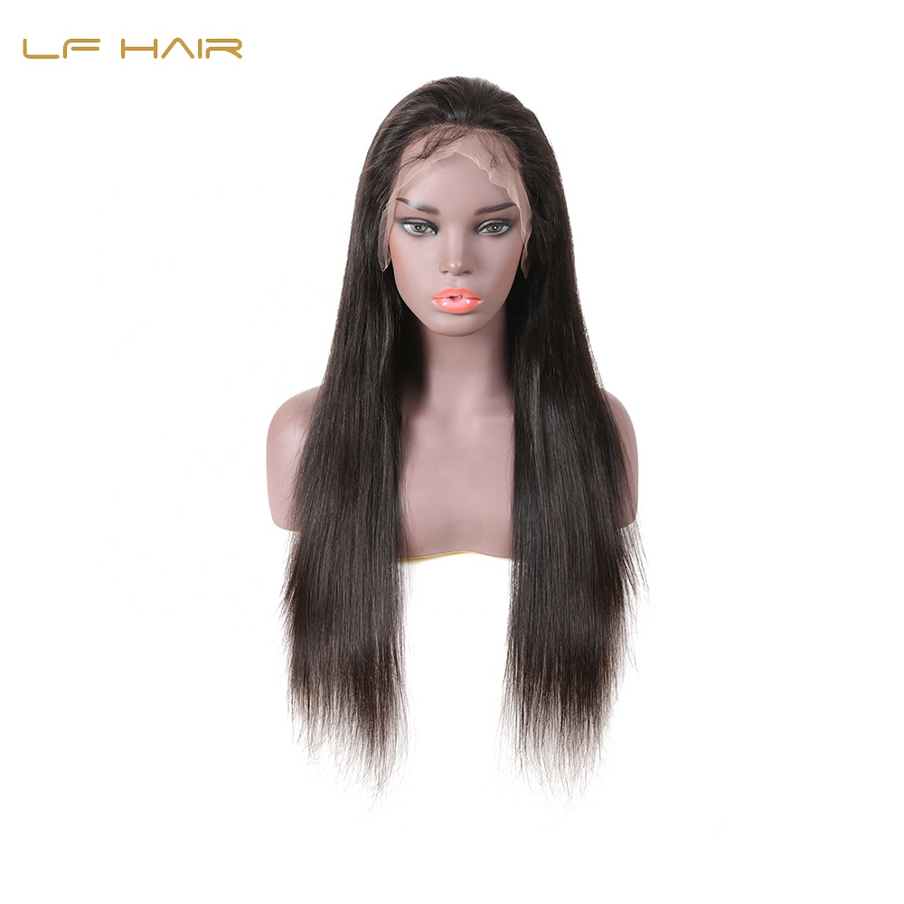 Straight Cuticle Aligned Wholesale Brazilian Lace Human Hair Wig