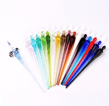 New crystal glass pen beautiful crystal diamond gift pen