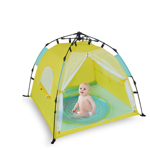 Waterproof Lightweight Portable Family Automatic Pop Up Beach Tent Easy Open Outdoor Baby Beach Tent