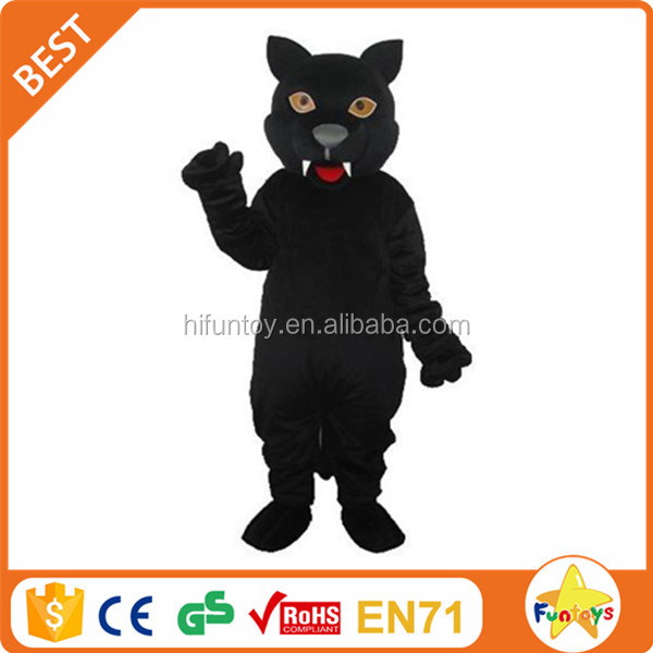 Funtoys CE Animal Black Panther Mascot Costume Adult