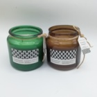Large Jar candle Customized Scented Candle aromatherapy Cotton wick candle