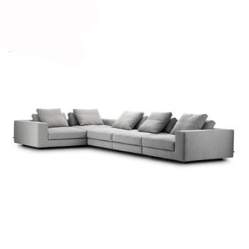 Nordic Modern Design Grey L Shape