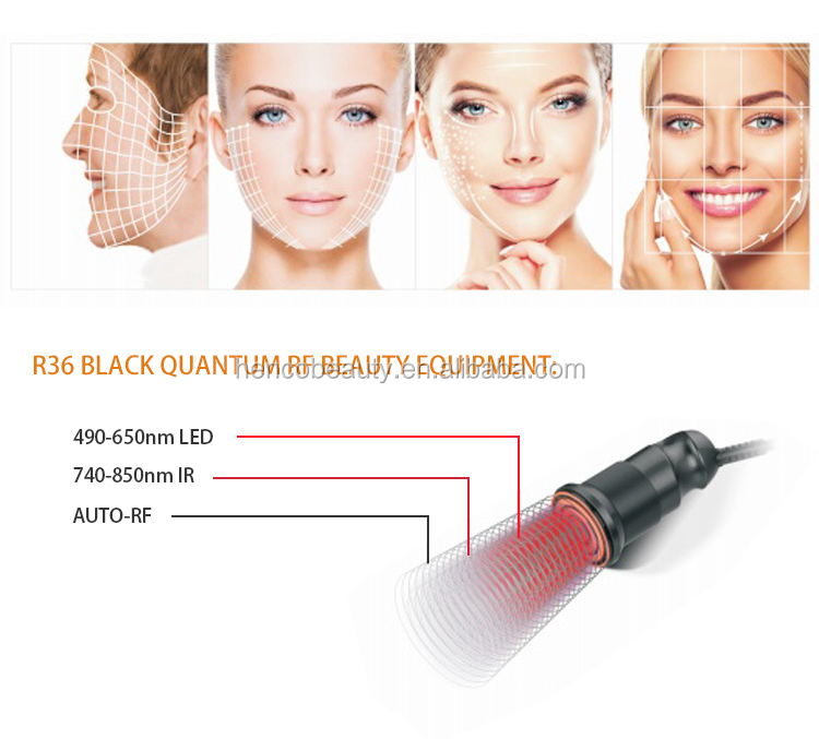 Henco quantum rf no pain no electric shock anti- wrinkle face lift slimming and weight loss R36