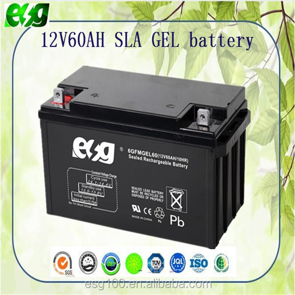 zyklenfeste 12v60ah agm batterie vrla smf sla gel batterie. Black Bedroom Furniture Sets. Home Design Ideas