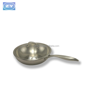Aluminum Die cast Ceramic Non Stick Coating Fry Pan for cooking