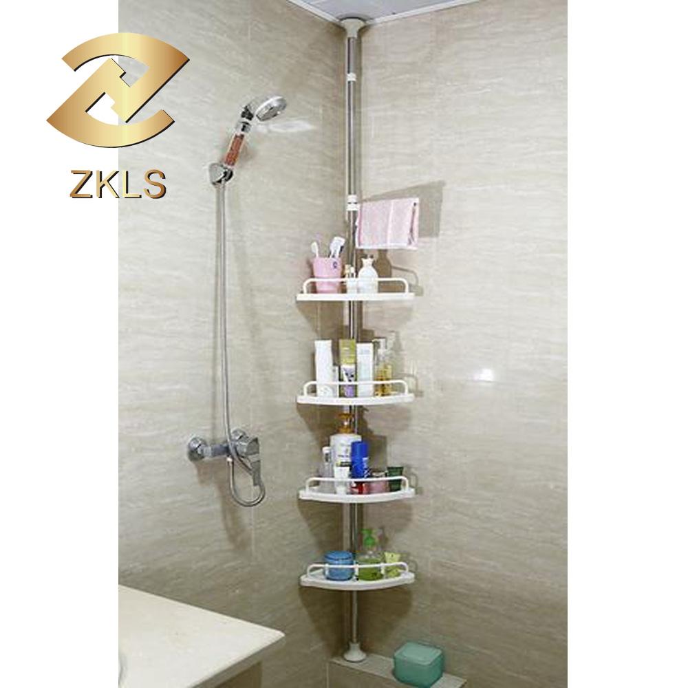 Plastic Corner Bathroom Shelves