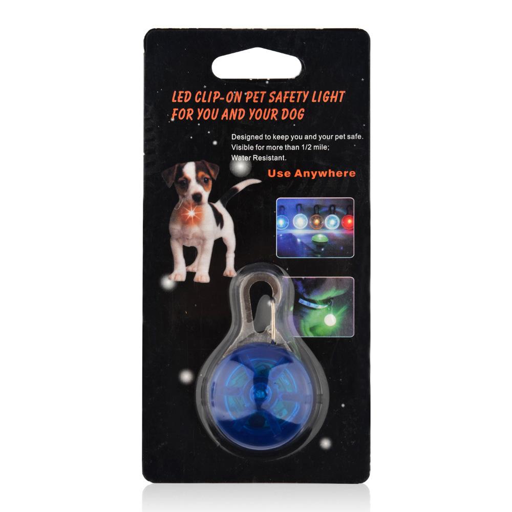 81aaf8026fb6 Perro mascota LED brillante Collar COLGANTE seguridad cachorro gato noche  luz mascota Collar luminoso brillante en