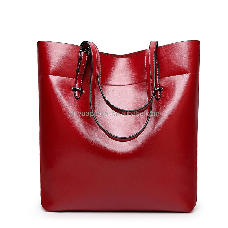 New Arrival Generous Brand Design Genuine Leather Tote Bag For Women