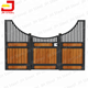 Luxury Prefab Portable Used Bamboo Horse Stable Stall Front Panel Door