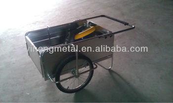 Garden Push Cart / Aluminum Hand Push Cart / Folding Push Cart
