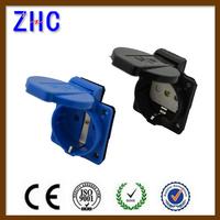 CE European Germany Type 16A 2P+E Power Adaptor Electric Schuko Socket