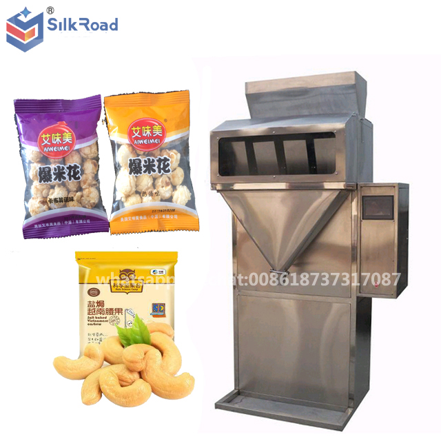 Automatic weighing small size popcorn snack packing machine