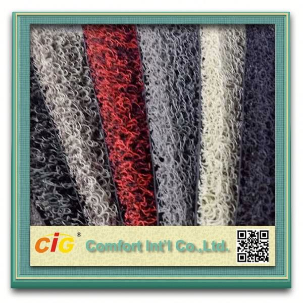 High Weight PVC Wire Ring Car Carpet/PVC Car Capet/PVC Coil Carpet