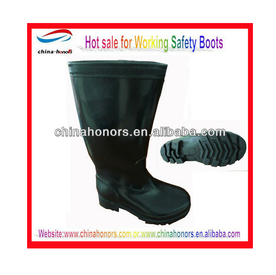 black wateproof horse riding PVC boot cover protect shoes for rain snow