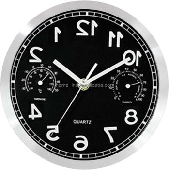 Werbe Wanduhren Metall Hinten Uhr Geschenk Laufende Uhr Buy Werbe Wanduhrenrückwärts Uhrlaufende Uhr Product On Alibabacom