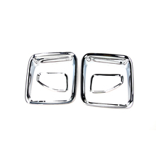 Exterior Parts 4PCS ABS Chrome Trim Rear Lamp Cover Tail Light Guard for Jeep Renegade 2015-2016