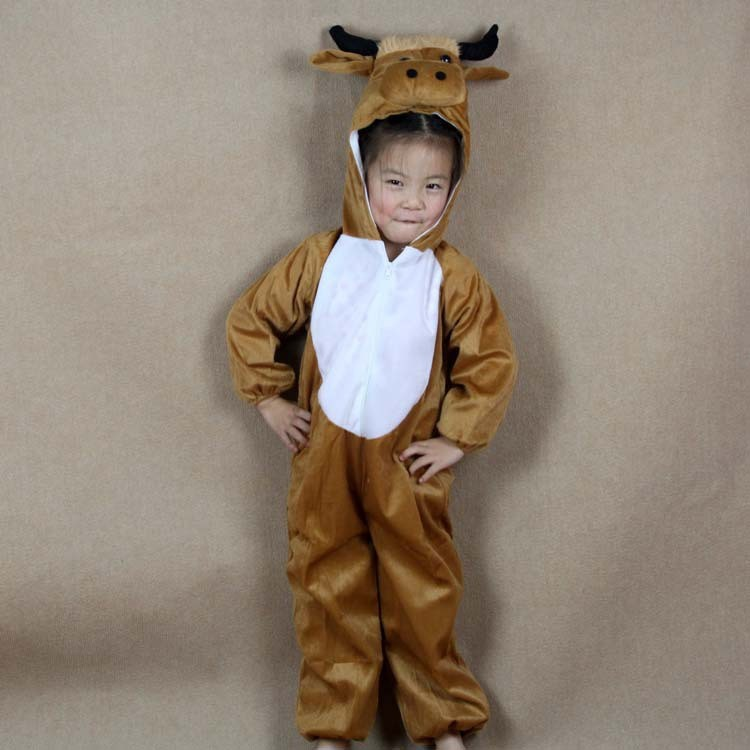 ... 56 Children Kids Baby Girl Boy Cartoon Animal Coat Clothes Pajama Brown Horse Costume Performance Suit  sc 1 st  CsakAShop & Children Kids Baby Girl Boy Cartoon Animal Coat Clothes Pajama Brown ...