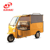 Luxury Three Wheel Gas Trike / Electric Adult Tricycle Taxi For Passenger And Customer