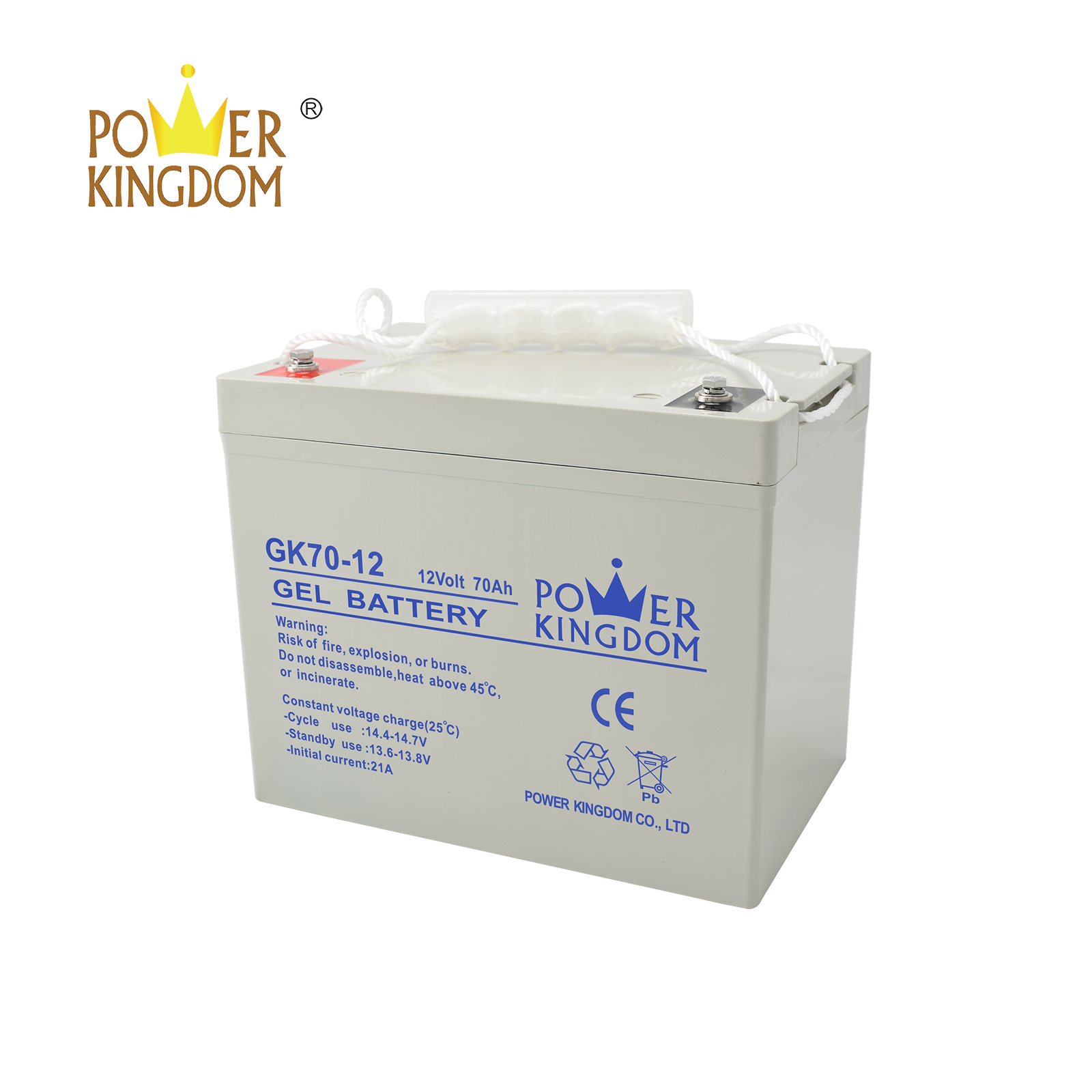 Power Kingdom 6v sealed lead acid battery design solor system-3