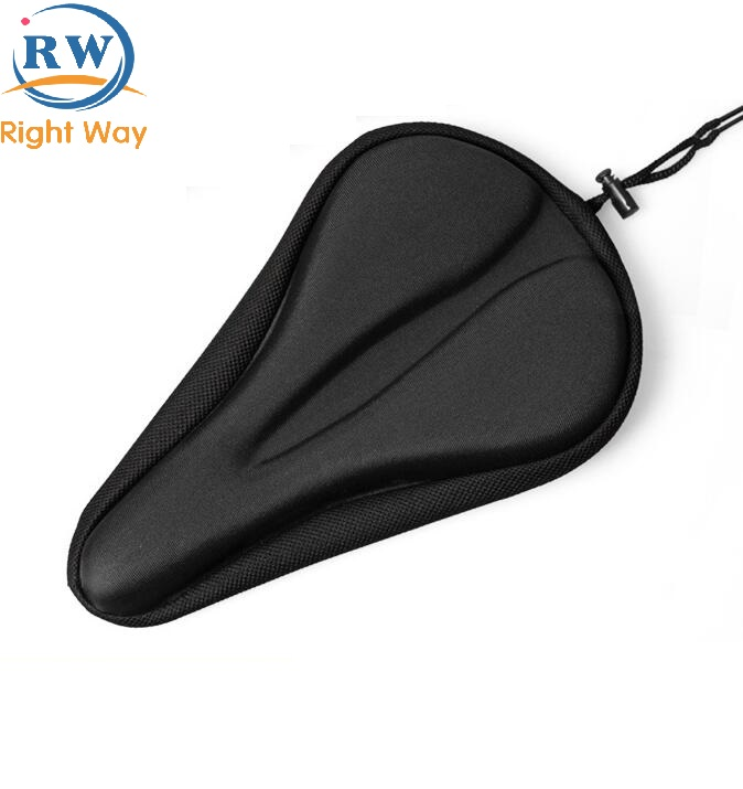 Custom GEL Comfortable Bicycle Seat Saddle Cover Cushion Cover