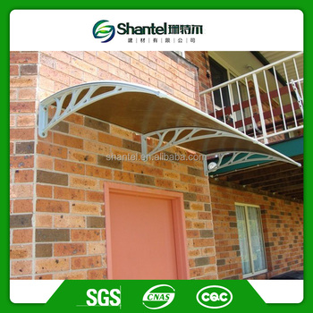 Polycarbonate Rain Canopy Awning Single Motorhome Door Awning Canopy In The  Philippines