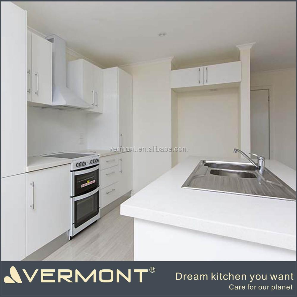 Disesuaikan Putih Dapur Set Model Desain