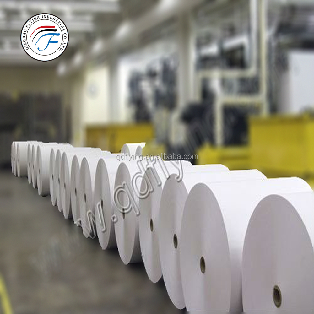 Factory Sale Writing Paper Offset Paper Roll Wood Pulp 60 gsm