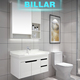 12 inch deep bathroom vanities for modern white Lacquer high gloss design