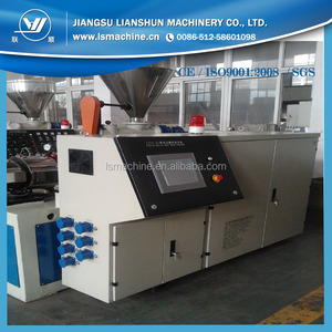 LIANSHUN BRAND plastic ectrusion machine for pipe making