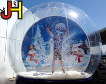 Christmas Decoration Giant Inflatable Snow Globe For Sale