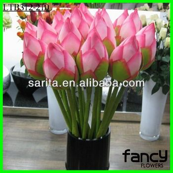 Single stem flower bud making artificial lotus flower buy single stem flower bud making artificial lotus flower mightylinksfo