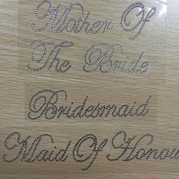8f7c4c3137 New Arrival Wedding Mirror Rhinestone Letter Sticker Bridal Crystal  Alphabet Stickers - Buy Bridal Crystal Alphabet Stickers,Mirror Rhinestone  Letter ...
