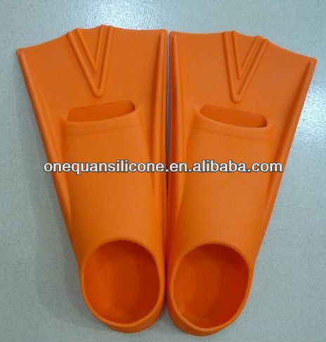 High quality comfortable silicone rubber swim shoes wholesale