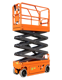 self propelled central hydraulics scissor lift tires