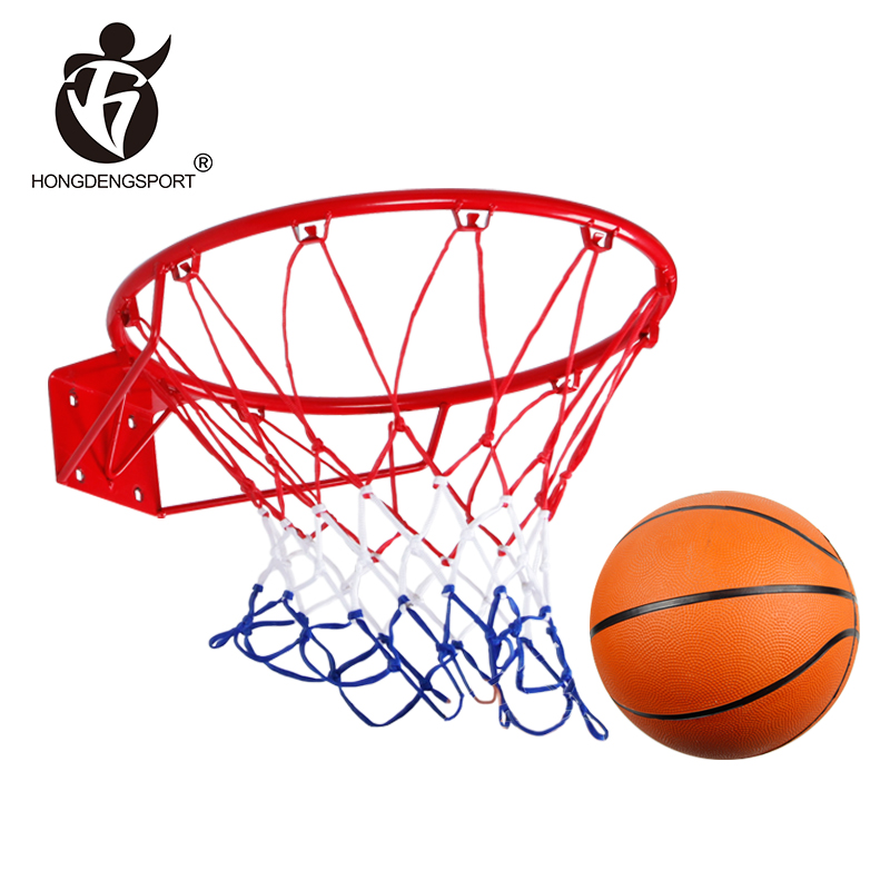 wholesale drubale 45cm diameter competitive price basketball net with rim