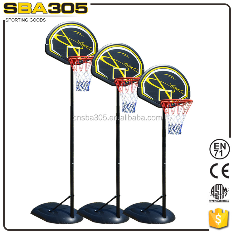 adjustable height tempered basketball glass backboard
