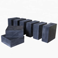 Natural rubber black rubber block for machine shock absorber
