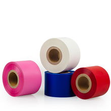 Vervangen <span class=keywords><strong>ricoh</strong></span> b110cr wit thermische transfer lint hars jumbo roll voor wassen zorg label 110 m 300 m