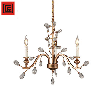 Factory Hot Sale In Dubai Classic European Iron Crystal Hanging ...